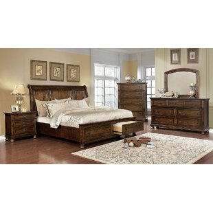 Leiston Storage Sleigh Bed