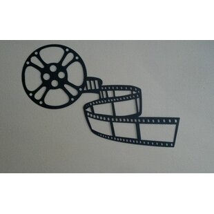 Movie Reel And Film Home Theater Metal Wall Décor