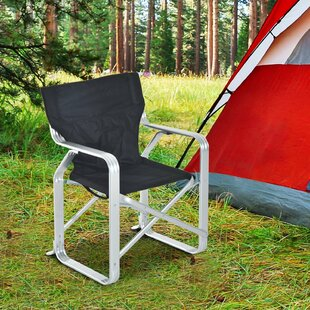 Fleur De Lis Living Bever Lightweight Aluminum Folding Camping Chair