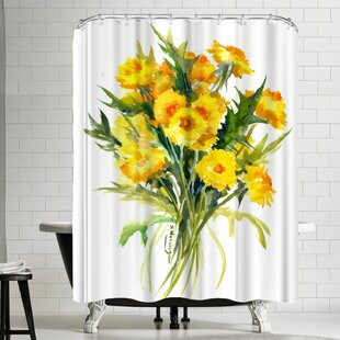 Suren Nersisyan Dandelion Flowers Single Shower Curtain