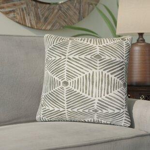 Tricia Geometric Cotton Throw Pillow (Set of 2)