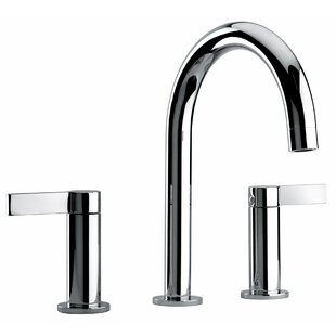 Jewel Faucets J14 Bath Series Widespread Bathroom Faucet with Drain Assembly
