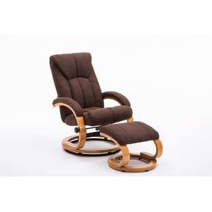 Venus Manual Recliner with Ottoman by Latitude Run