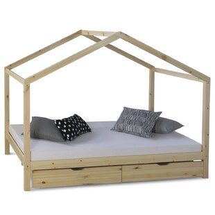 Finch European Single House Bed With Drawers By Harriet Bee