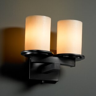 Bargain Wantage 2-Light Wall Sconce By Loon Peak