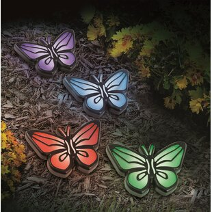 Butterflies 4 Light Pathway Light (Set of 4)