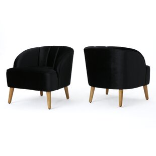 Mistana Javion Modern Club Chair (Set of 2)