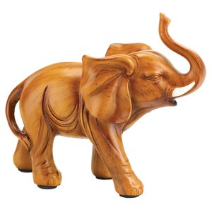 Light Brown Elephant Figurine