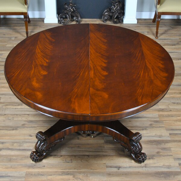 36 Inch Round Table With Leaf Wayfair