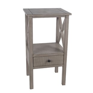 Kilraghts 1 Drawer End Table with Storage by Gracie Oaks