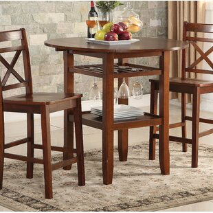 Skiatook 36 Drop Leaf Dining Table Highland Dunes