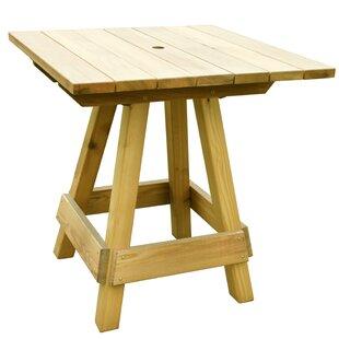 Look for Lanham Oak Bar Table Price Check