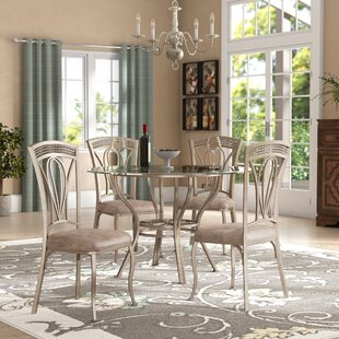 Anton 5 Piece Dining Set by Fleur De Lis ..