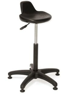 Height Adjustable Lab Stool With Single Lever Release by Intensa New