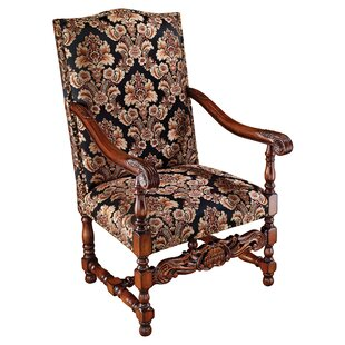 Milton Manor Drawing Room Arm Chair by Design Toscano