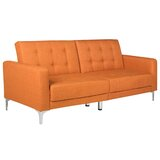 Futton 75.5 Recessed Arm Sofa Bed by Wade Logan®