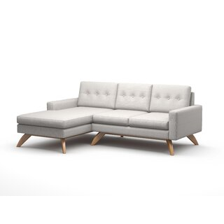 "Luna 90"" Sofa With Chaise by TrueModern SKU:DE534249 Description"