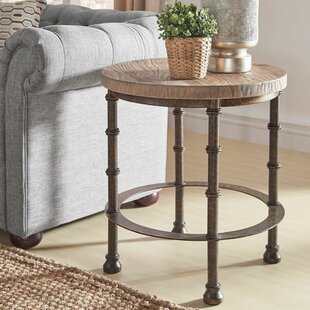 Mccarver Industrial End Table