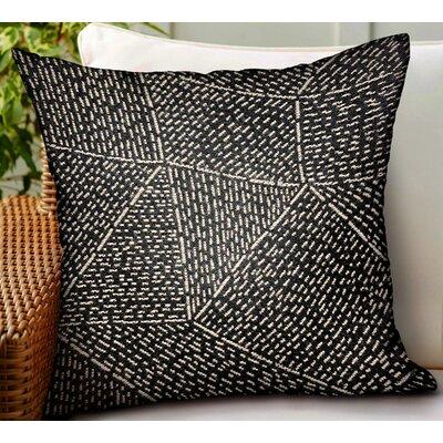 Calne Geometric Luxury Indoor/Outdoor Throw Pillow by Orren Ellis Wonderful