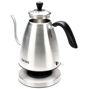 1 Qt. Goose Neck Pour Over Stainless Steel Electric Tea Kettle
