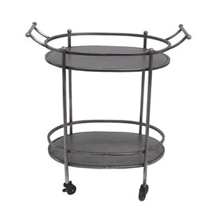 Teton Home Oval Bar Cart