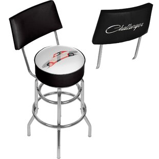 Dodge Challenger 31 Swivel Bar Stool by Trademark Global Best #1