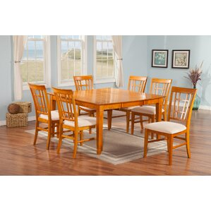 Bluffview 7 Piece Dining Set by Darby Home Co