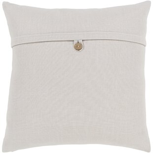 Penelope Modern Cotton Throw Pillow in , Pillow With Down Insert