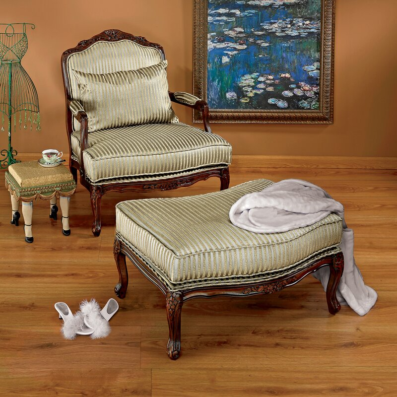 Ordinaire Rue Saint Honore Bergere Chair And Ottoman