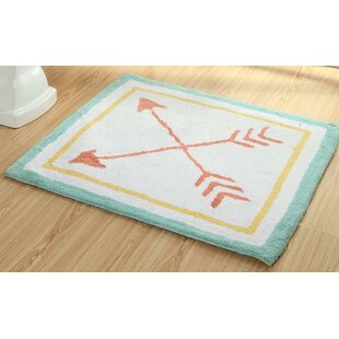 Dunecrest Arrows Vibrant Children Bath Rug