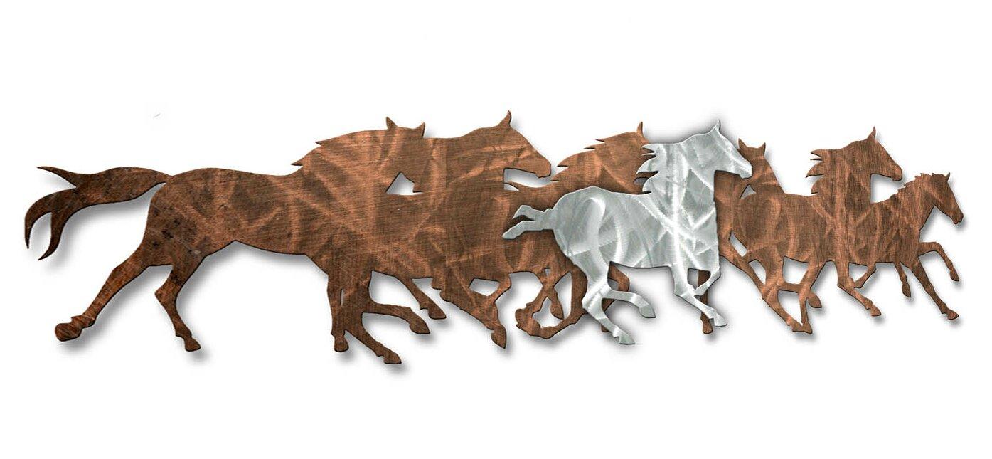 Wild Horses Wall Décor