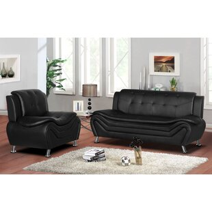 Gilligan 2 Piece Living Room Set by Orren Ellis