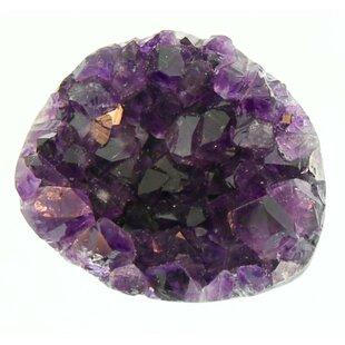 Purple Amethyst Crystal Knob
