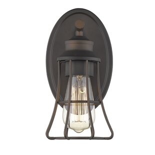 Painesville 1-Light Armed Sconce by Gracie Oaks