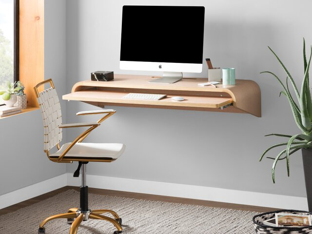 Oak Trendy White Desk Concepts Minimalist Living Room Design