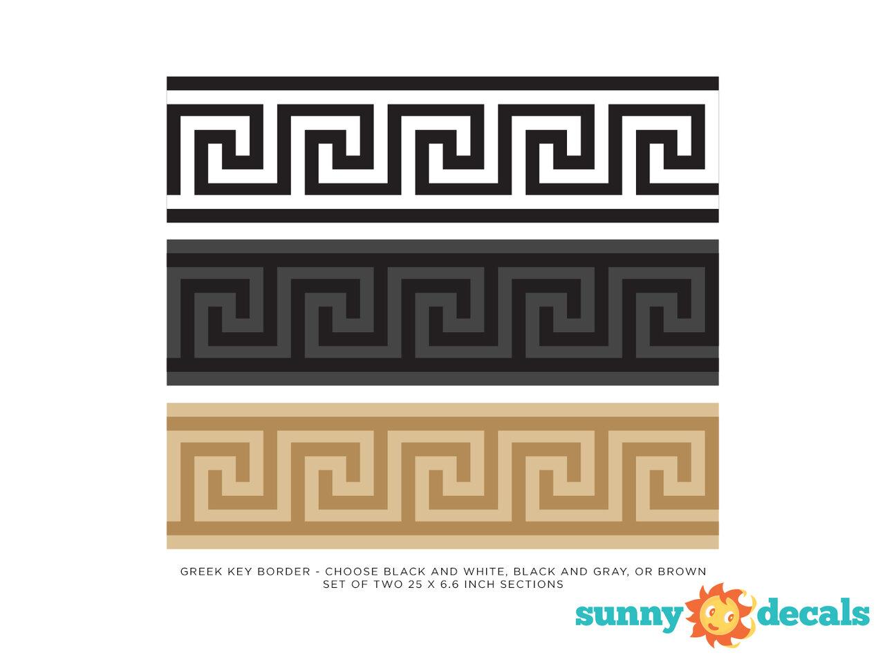 Sunny Greek Key beaded set