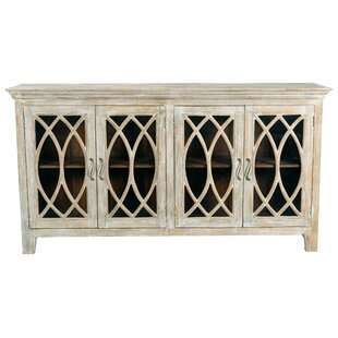 Pinner 4 Glass Door Sideboard One Allium Way