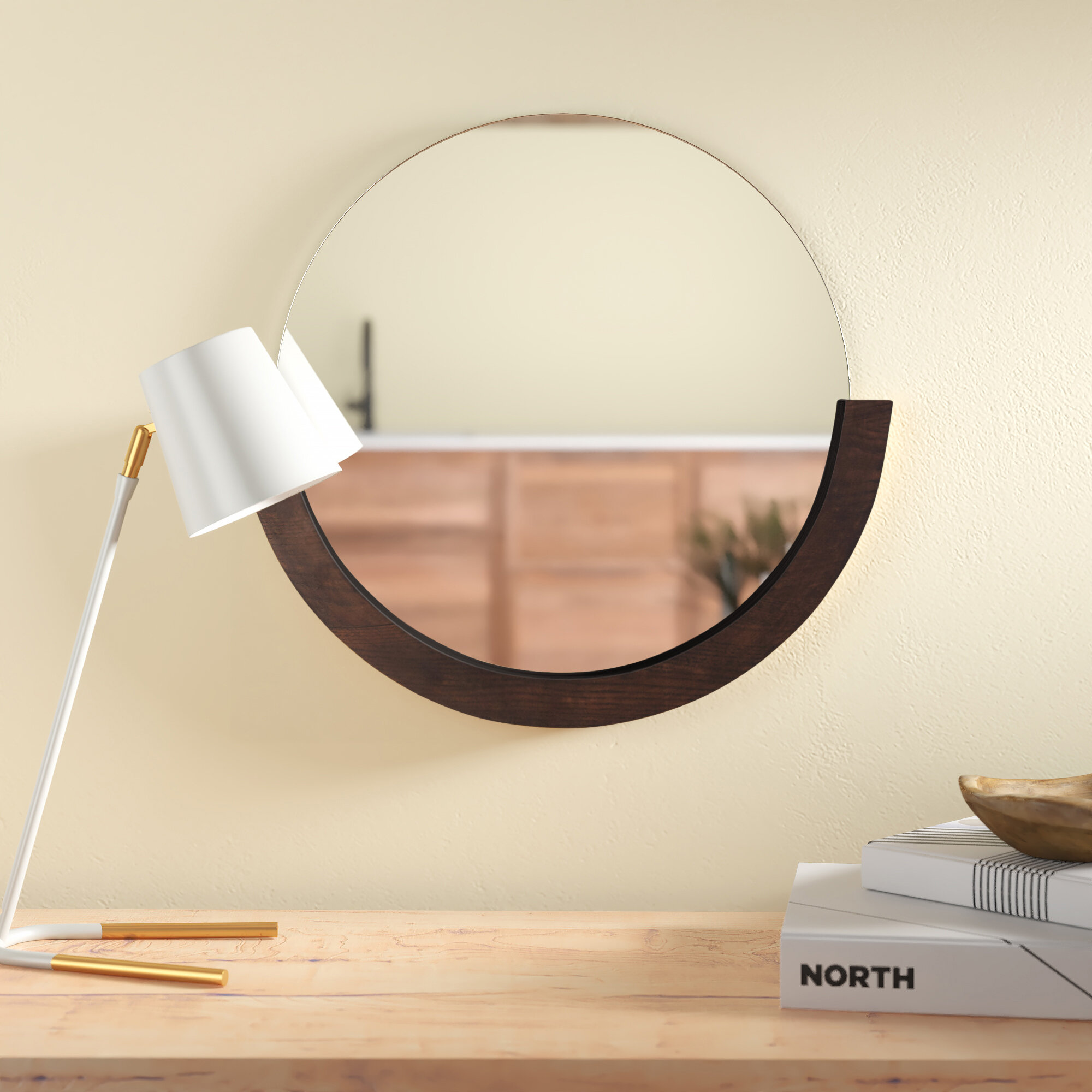 Mira Modern Accent Mirror Reviews Allmodern