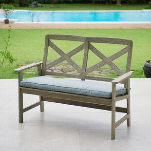 Englewood Wood Garden Bench by Beachcrest Home