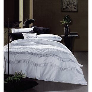 Melange Home 3 Piece Duvet Cover Set