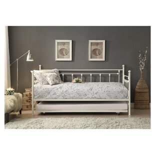 Zimmerman Metal Daybed with Trundle by August Grove