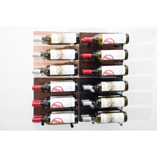 36 Bottle Wall Mounted Wine Rack by Vinta..