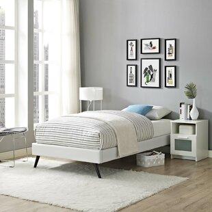 Peres Upholstered Platform Bed by Ebern Designs