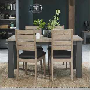 Dorantes Extendable Dining Set With 4 Chairs By Mercury Row