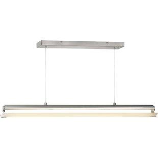 Degraw Linear 1-Light LED Kitchen Island Pendant by Orren Ellis