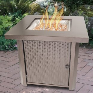 Wilmington Steel Propane Gas Fire Pit Table