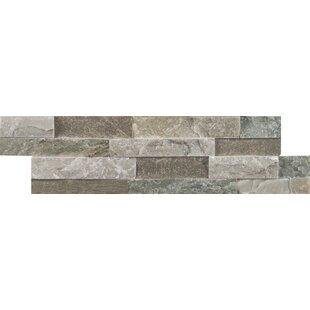 Sierra Random Size Natural Stone Splitface Tile in Gray
