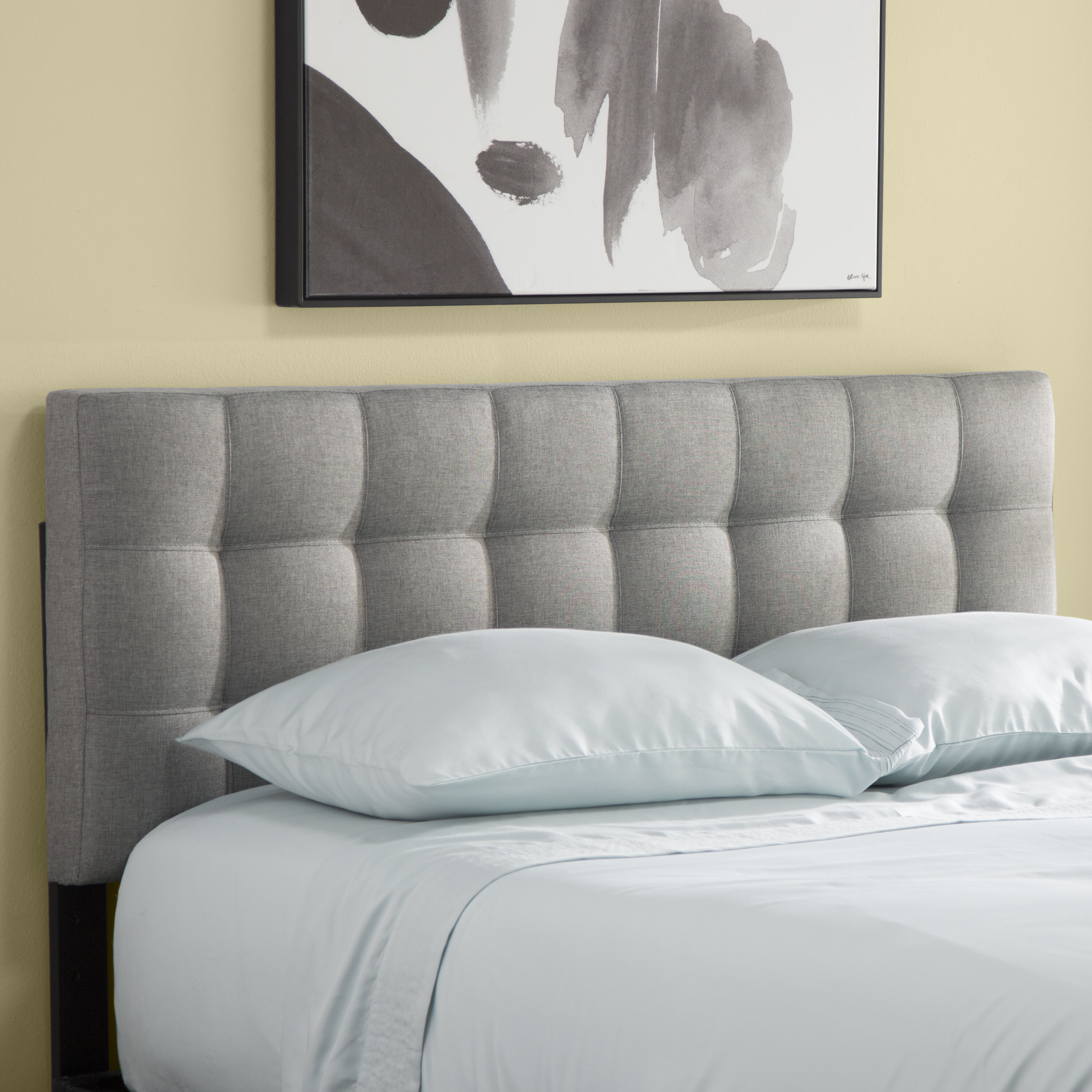 Zipcode Design Francis Upholstered Panel Headboard Reviews Wayfair