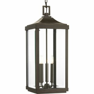 Low priced Kinlaw 3-Light Outdoor Hanging Lantern By Alcott Hill