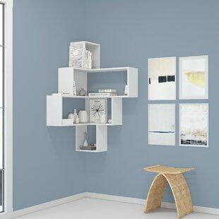 Aldo Corner Bookcase By Mikado Living